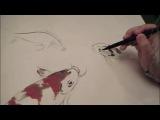 Карпы - урок китайской живописи