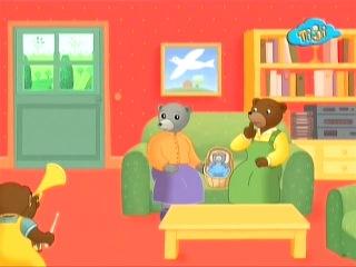 Приключения бурого медвежонка - 12.Бурый медвежонок и малыш